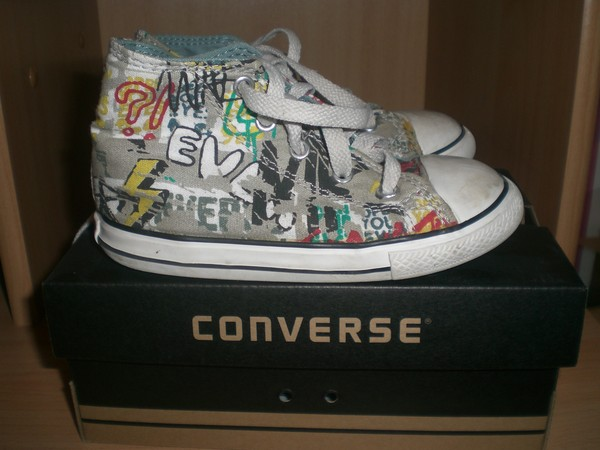 5c1461bb2141b (n°038) CONVERSE basket pointure 25